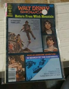 Walt Disney Showcase #44 1978, Western Publishing return from witch mountain