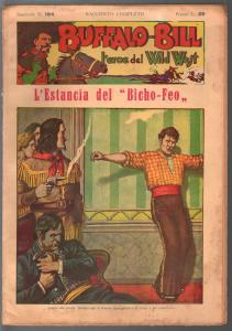 Buffalo Bill Hero Of The Wild West #184 1949-Italian edition-Dime Novel-FR