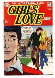 GIRLS' LOVE STORIES #142 comic book-DC ROMANCE-MOD/HIPPIE ROMANCE