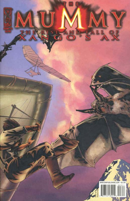 Mummy, The: The Rise and Fall of Xango's Ax #3A VF/NM; IDW | save on shipping -
