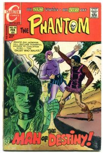 THE PHANTOM #48 1971-CHARLTON COMICS-WILD JUNGLE COVER G