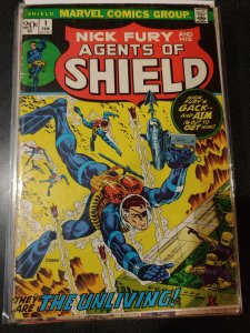 NICK FURY AND HIS AGENTS OF SHIELD #1 VG+