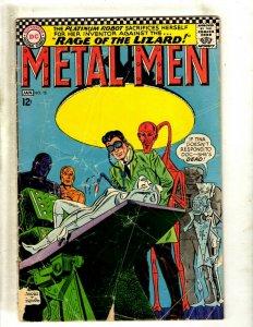 Metal Men # 23 GD DC Silver Age Comic Book Aluminum Gold Silver Zinc Alloy J462