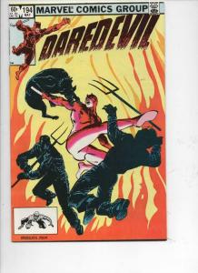 DAREDEVIL #194 VF/NM  Murdock, Judgement, 1964 1983, more Marvel in store