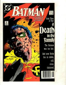 Batman A Death In The Family Complete DC Comics Series # 426 427 428 429 SM8