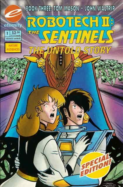 Robotech II: The Sentinels Book III #1 FN; Eternity | save on shipping - details