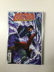 Black Lightning 1 Variant Near Mint Dc Comics HPA