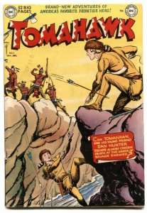 Tomahawk #2 1950- FRAZETTA- DC Western Golden Age FN+