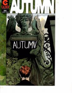 Lot Of 2 Comic Books Caliber Autumn #2 and Atomik Angel #2  MS17
