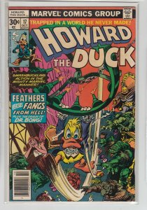 HOWARD THE DUCK (1976 MARVEL) #17 VG A08680