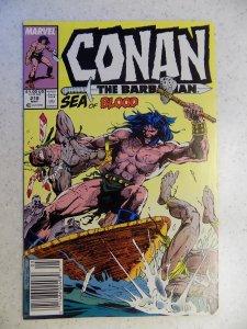 CONAN THE BARBARIAN # 218