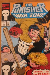 The Punisher War Zone 4 NM