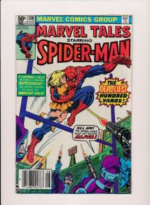 MARVEL TALES SPIDER-MAN #130 1981  VERY GOOD/FINE  (SRU600)