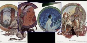 KALUTA(1979)folio-CHILDREN OF TWILIGHT 30yrs+ 1979