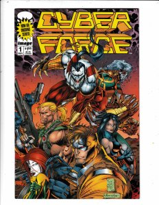 CYBERFORCE#1  FN/VF   NO RESERVE  Save on shipping