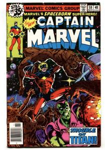 CAPTAIN MARVEL #59 1st appearance of Stellarax Marvel