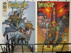 HELLCOP (1998 IM) 1 (2 CVRS) McFarlane inks on one cvr
