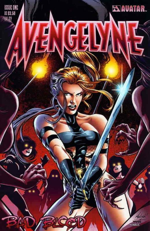 Avengelyne: Bad Blood #1C VF/NM; Avatar | save on shipping - details inside