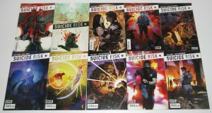 Suicide Risk #1-25 VF/NM complete series  mike carey there are too many villains