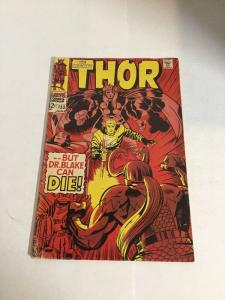 Thor 153 Vg/Fn Very Good/Fine 5.0 Silver Age