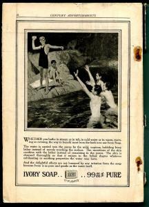 Century Magazine 8/1915-historic-pulp format-unique art & features-classic-VG-