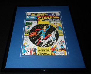 Action Comics #334 Framed 11x14 Repro Cover Display Supergirl Streaky Superhorse