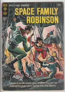Space Family Robinson, Lost In Space #12 (Apr-65) VG+ Affordable-Grade Will R...