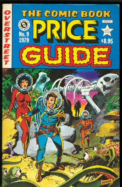 OVERSTREET COMIC BOOK PRICE GUIDE #9-WALLY WOOD EC VF
