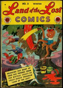 Land of the Lost #3 1946- Radio Show- EC Golden Age Funny Animals VG/F