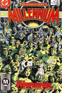 Millennium (1988 series) #1, NM (Stock photo)