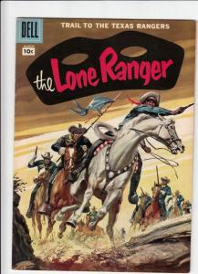 Lone Ranger, The #105 (Mar-57) FN/VF Mid-High-Grade The Lone Ranger, Tonto, S...