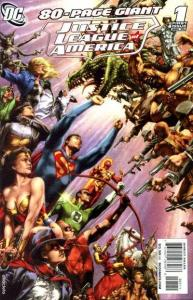 Justice League of America (2006 series) 80-Page Giant #1, NM + (Stock photo)
