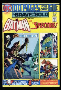 Brave And The Bold #116 VF/NM 9.0 Batman Spectre!