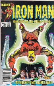 Iron Man #185 (Aug-85) NM Super-High-Grade Iron Man