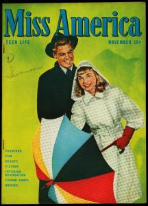 Miss America Comics Vol 5 #1 1946- Patsy Walker- Timely Golden Age VF-