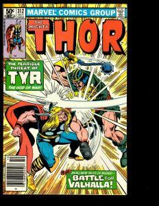 Lot of 9 Thor Marvel Comics # 317 316 315 314 313 312 311 310 309 Spider-Man DS3