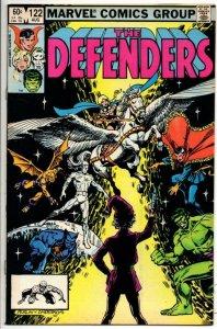 DEFENDERS #122, VF/NM, Son of Satan Dr Strange Hulk 1972 1983 Marvel