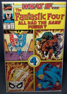 WHAT IF #11, VF/NM, Fantastic Four had same powers, Thing, 1988 1990, Marvel