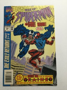 Web Of Spider-Man 119 Near Mint Nm Newsstand Edition 1st First Kaine Marvel