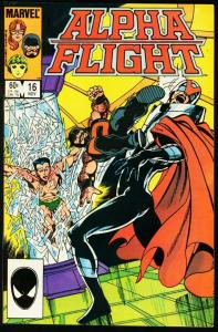 ALPHA FLIGHT #16-SUB-MARINER-MARVEL-MUTANTS! NM