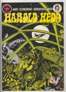 Harold Hedd #2 (Jan-73) NM- Mid-High-Grade Harold Hedd, Elmo