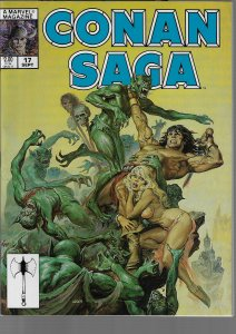 Conan Saga #17 (Marvel, 1988)