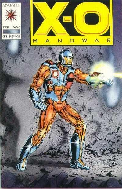 X-O Manowar (1992 series) #1, VF+ (Stock photo)