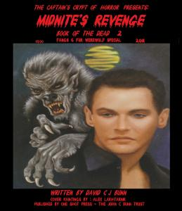 Midnites Revenge Book of the Dead #2, 2ndPrint W/ FREE COMIC! ONE SHOT PRESS