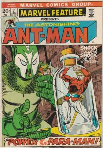 Marvel Feature presents Ant-Man, The Astonishing #7 (Jan-72) VF High-Grade An...