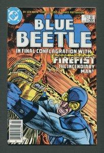 Blue Beetle #2  / 9.0 VFN/NM  /  Newsstand /  July 1986