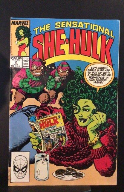 The Sensational She-Hulk #2 (1989)