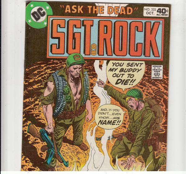 Sgt. Rock #333 (Oct-79) FN/VF Mid-High-Grade Sgt. Rock