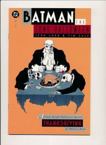 BATMAN The LONG HALLOWEEN #2 DC Comics 1996 Tim Sale, FN? (PF448)