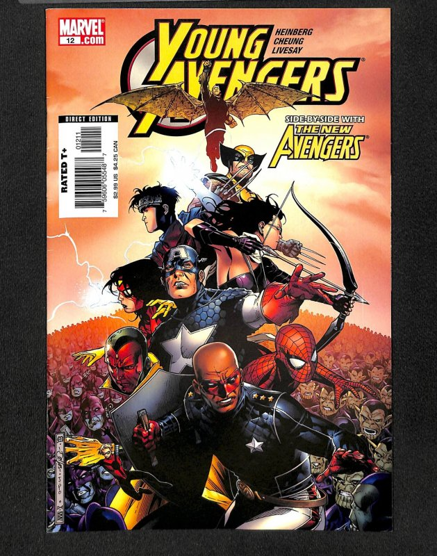 Young Avengers (2005) #12  Tommy Shepherd becomes Speed!